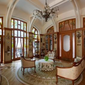 комната в стиле модерн варианты фото