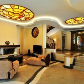 комната в стиле модерн виды дизайна