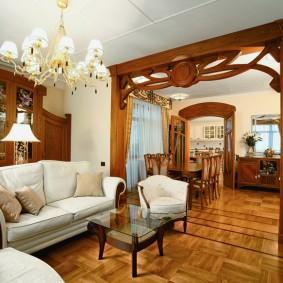 комната в стиле модерн обзор