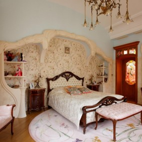 комната в стиле модерн идеи декор