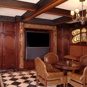 комната в стиле модерн идеи виды