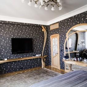 комната в стиле модерн идеи фото
