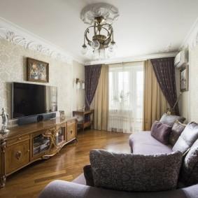 комната в стиле модерн виды