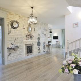 комната в стиле прованс декор фото