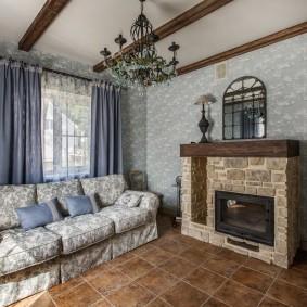 комната в стиле прованс фото дизайна