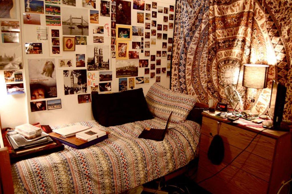 комната в стиле тамблер бежевая