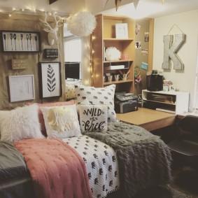 комната в стиле tumblr