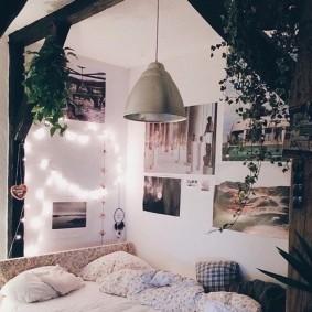 комната в стиле tumblr декор