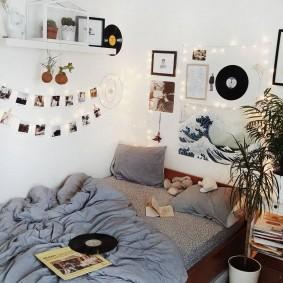 комната в стиле tumblr фото декора