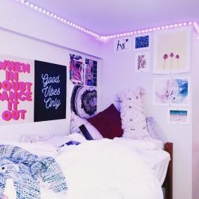 комната в стиле tumblr идеи декора