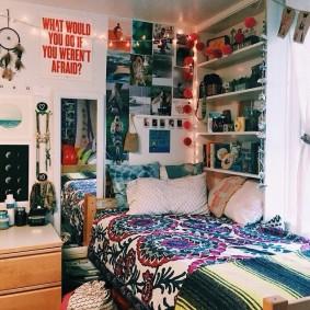 комната в стиле tumblr фото интерьер