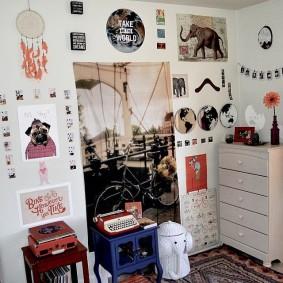 комната в стиле tumblr фото оформление