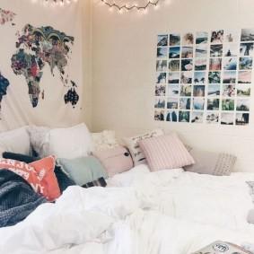 комната в стиле tumblr идеи оформления