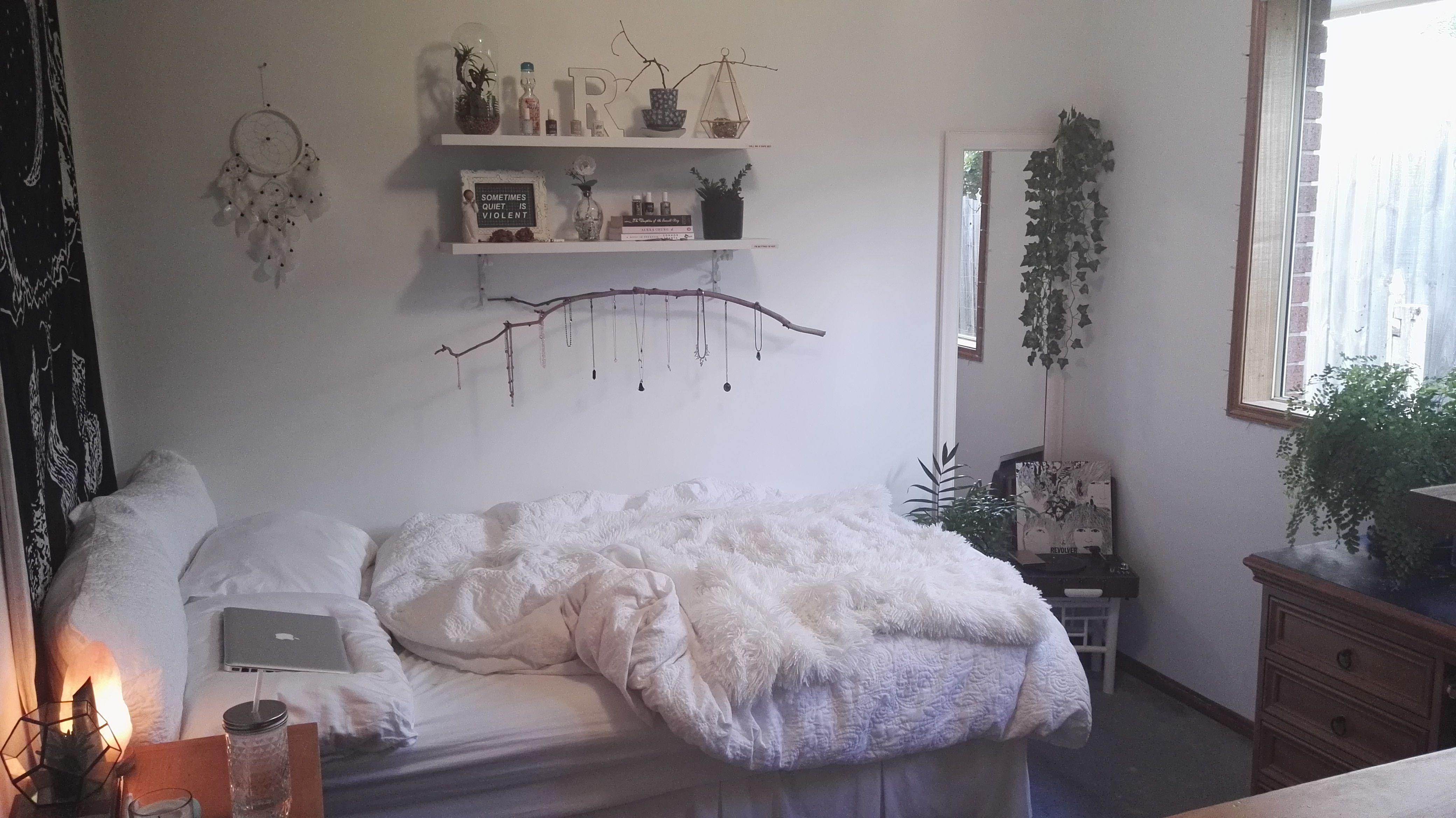 комната в стиле тамблер белая