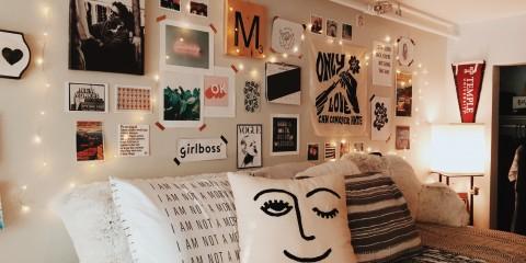 комната в стиле тамблер фото оформления