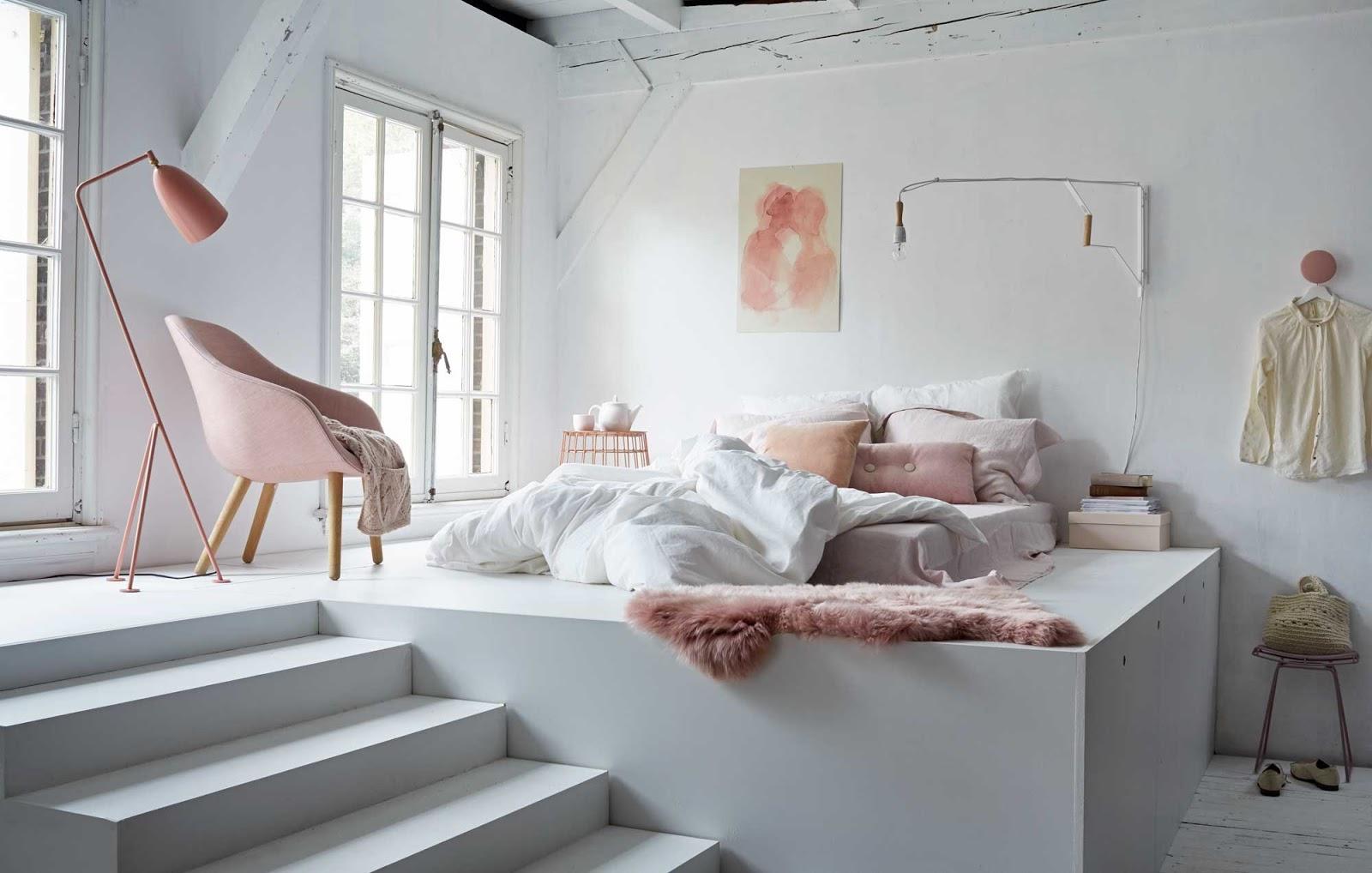 комната в стиле тамблер лофт