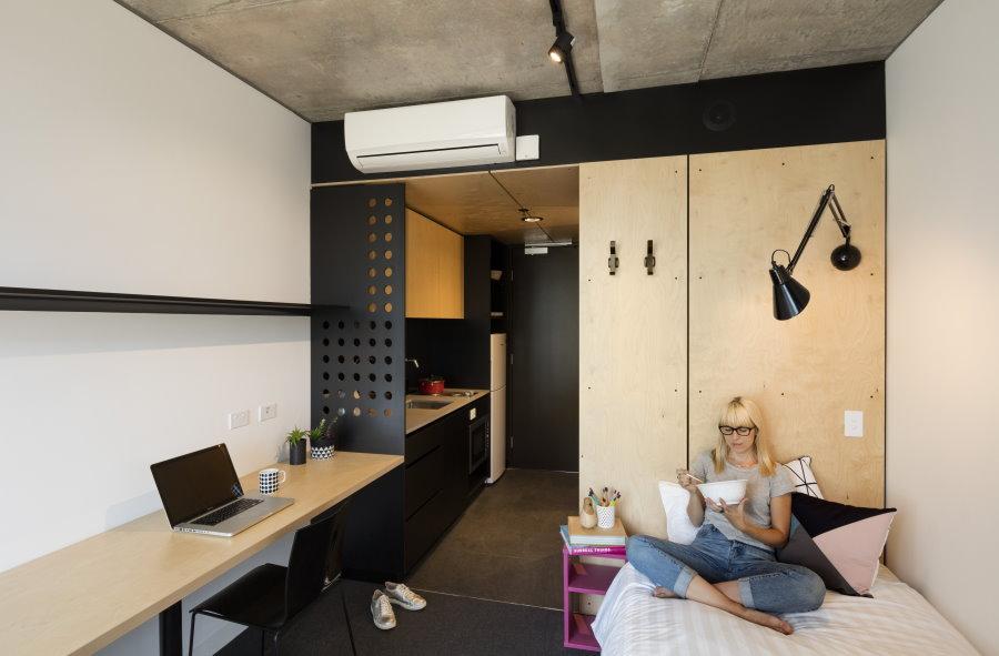 Современная комната для девушки студентки