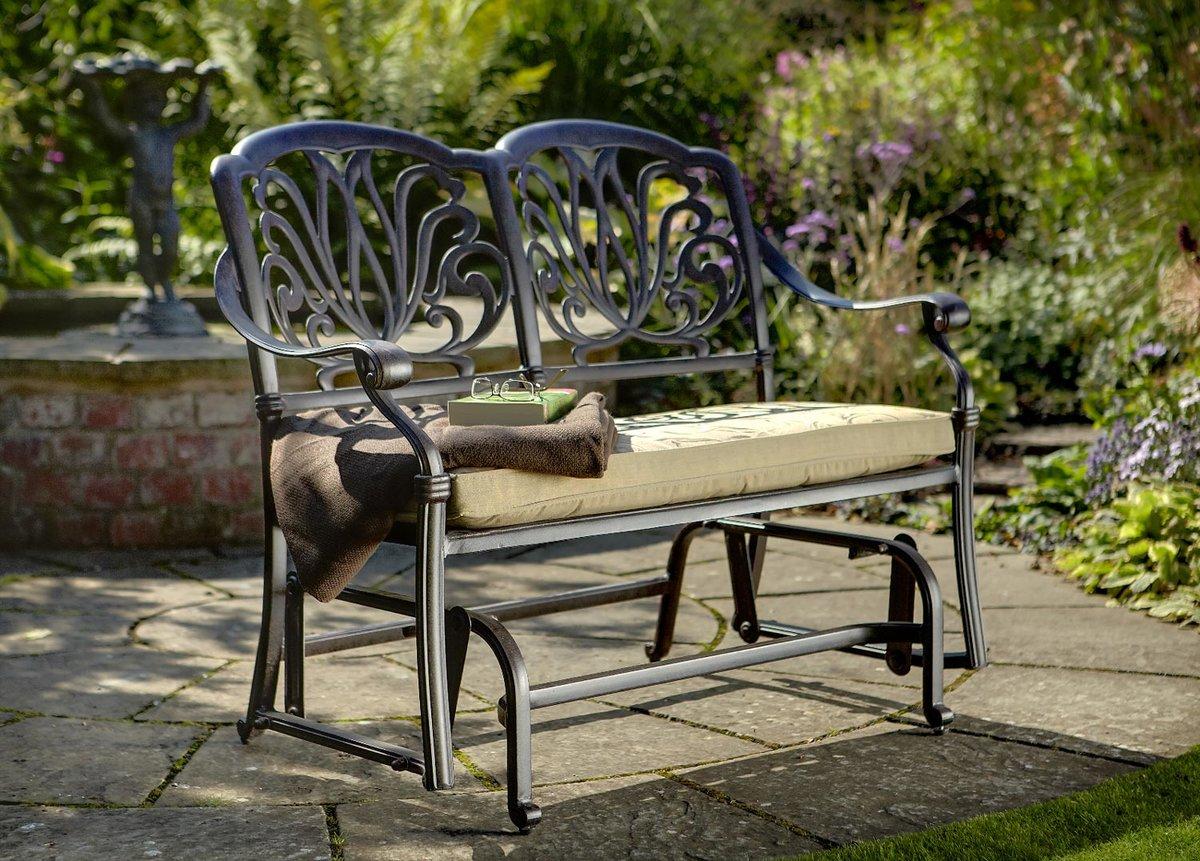 кованые скамейки дизайн фото
