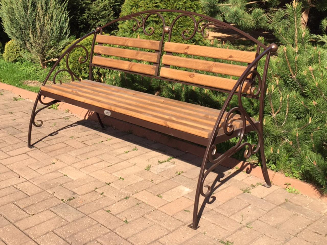 кованые скамейки дизайн