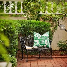 кованые скамейки для сада фото декор