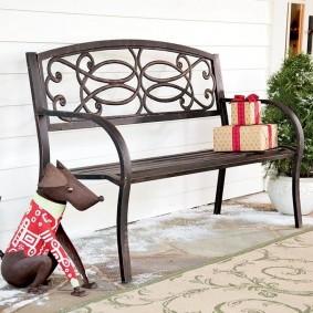 кованые скамейки для сада идеи декор