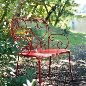 кованые скамейки для сада фото оформления