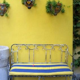 кованые скамейки для сада идеи оформление