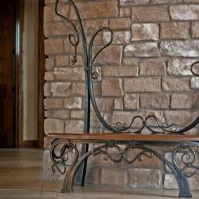 кованые скамейки для сада фото варианты