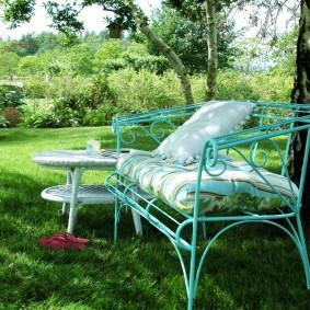кованые скамейки для сада идеи фото