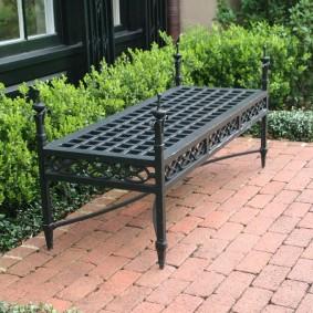 кованые скамейки для сада идеи виды