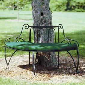 кованые скамейки для сада обзор