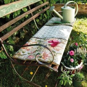кованые скамейки для сада фото идеи