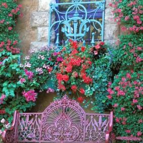 кованые скамейки для сада обзор фото