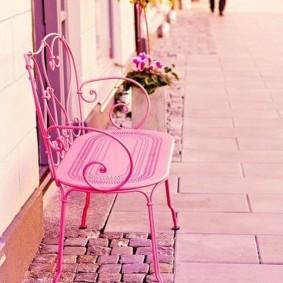 кованые скамейки для сада дизайн
