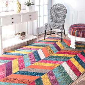 коврик в прихожей виды дизайна