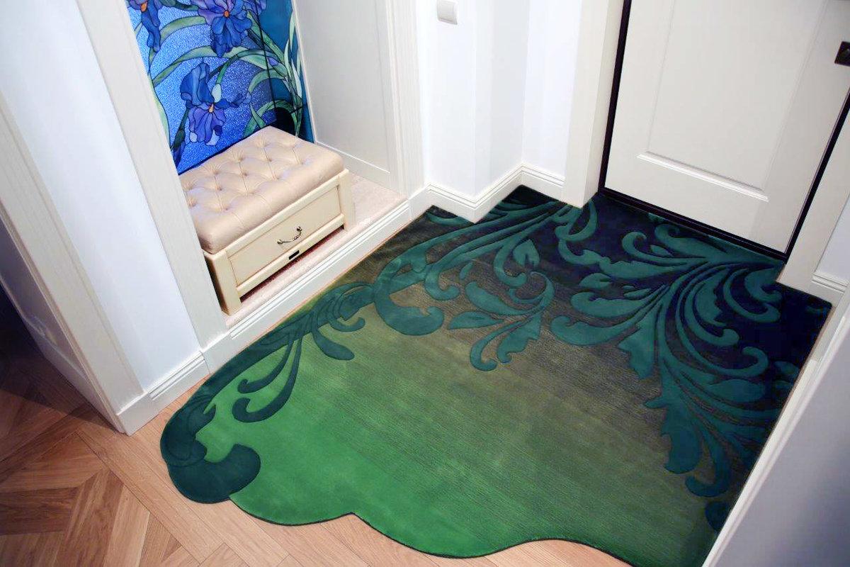 коврик в прихожую необычный