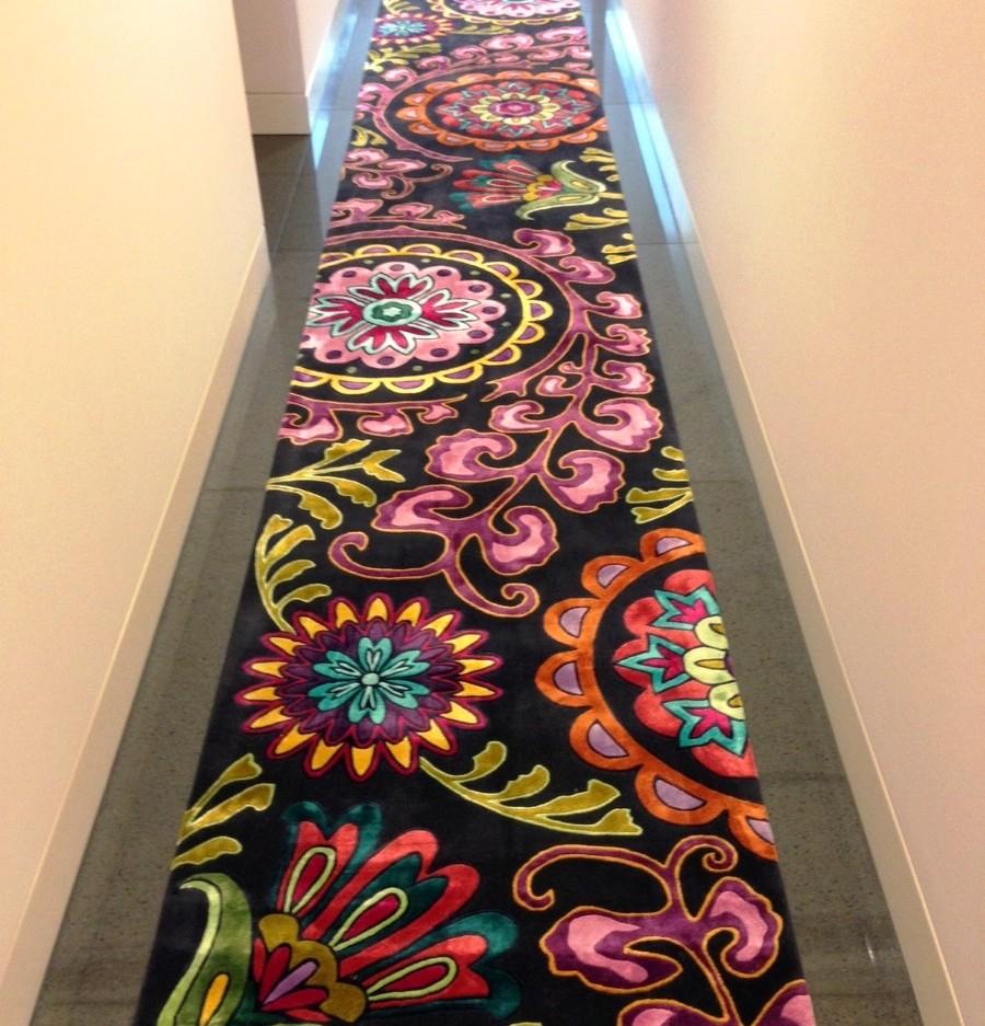 ковровая дорожка в прихожую в восточном стиле