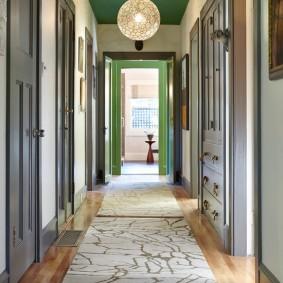 ковровые дорожки в прихожую идеи дизайн