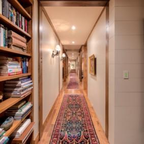 ковровые дорожки в прихожую идеи интерьера