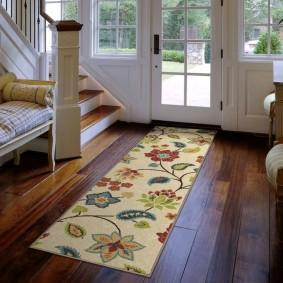 ковровые дорожки в прихожую виды дизайна
