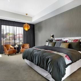 красивая спальная комната дизайн идеи