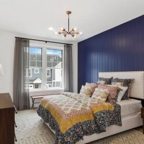 красивая спальная комната фото декор
