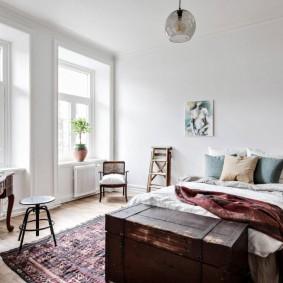 красивая спальная комната фото декора