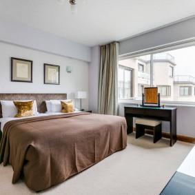 красивая спальная комната идеи декор