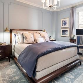 красивая спальная комната идеи декора
