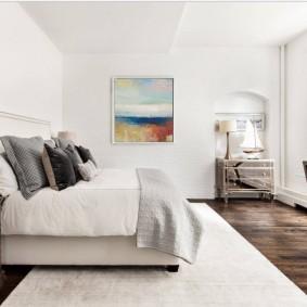красивая спальная комната интерьер