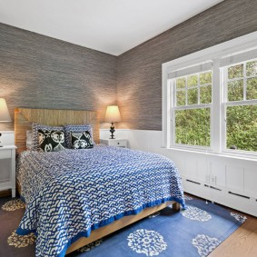 красивая спальная комната фото интерьер