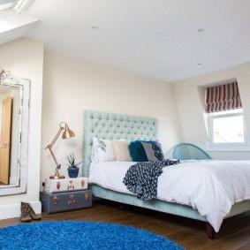 красивая спальная комната фото интерьера