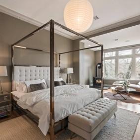 красивая спальная комната оформление идеи