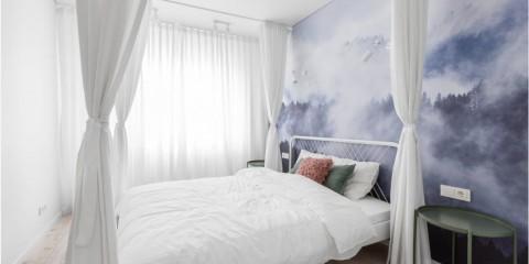 красивая спальная комната варианты